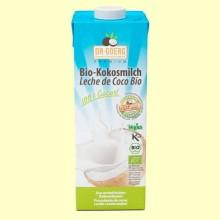 Bio-kokosmilch Leche de Coco Premium Bio - 1 litro - Dr Goerg