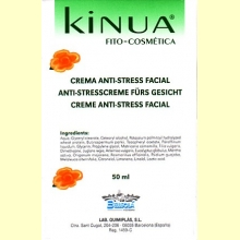 Crema Anti-Stress Facial 50ml de Kinua