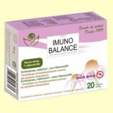 Imunobalance - Sistema Inmunitario - 20 cápsulas - Bioserum