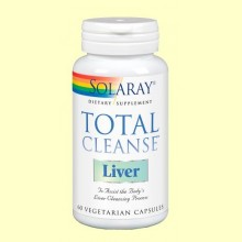 Total Cleanse Liver - 60 cápsulas - Solaray