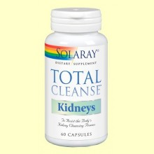 Total Cleanse Kidney - 60 cápsulas - Solaray