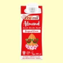 Leche de Almendra Original Cacao Bio - 200 ml - EcoMil