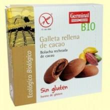 Galletas con Crema de Cacao - 200 gramos - Germinal