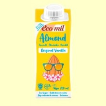 Leche de Almendras y Vainilla Original Bio- 200 ml - EcoMil