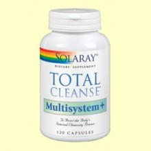 Total Cleanse Multisystem - 120 cápsulas - Solaray