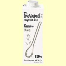 Crema de Arroz para Cocinar Bio - 250 ml - Provamel