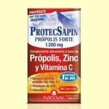ProtecSapin Propólis Forte 1200 mg - 20 cápsulas - Natysal
