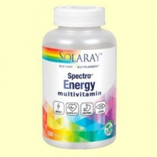 Multivitaminas Spectro Energy - 120 cápsulas - Solaray