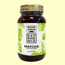 Experience Matcha Bio - 120 cápsulas - NaturGreen