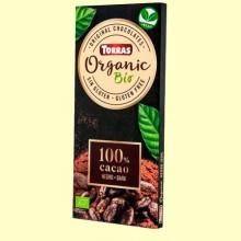 Chocolate Negro 100% - 100 gramos - Torras