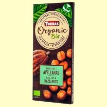 Chocolate Negro 70% Avellanas - 100 gramos - Torras