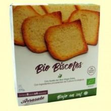 Biscotes sin Sal sin Azúcar Ecológicos - 270 gramos - Arrasate