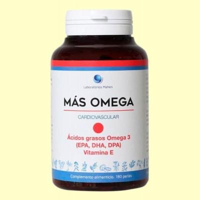 Más Omega Punto Rojo - 180 perlas - Mahen