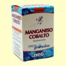 Manganeso Cobalto Microgránulos - 50 cápsulas - Neo