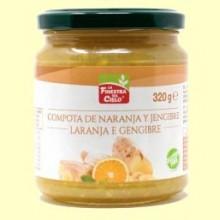 Compota de Naranja y Jengibre - 320 gramos - La Finestra Sul Cielo