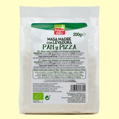 Masa Madre con Levadura - Pan y Pizza - 250 gramos - La Finestra Sul Cielo