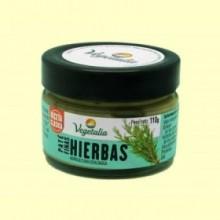 Paté de Hierbas Bio - 110 gramos - Vegetalia