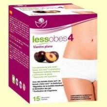 Lessobes4 Vientre Plano - 15 monodosis - Bioserum