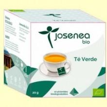 Té Verde Bio - 10 pirámides - Josenea