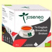 Té English Breakfast Bio - 10 pirámides - Josenea