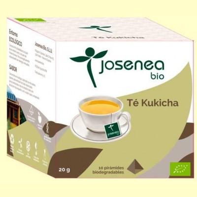 Té Kukicha Bio - 10 pirámides - Josenea