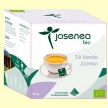 Té Verde Jazmin Bio - 10 pirámides - Josenea