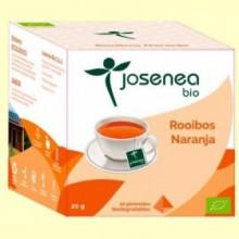 Rooibos Naranja Bio - 10 pirámides - Josenea