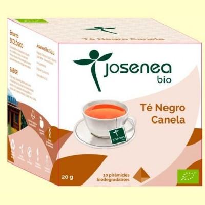 Té Negro Canela Bio - 10 pirámides - Josenea