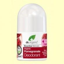 Desodorante Granada Orgánica - 50 ml - Dr.Organic