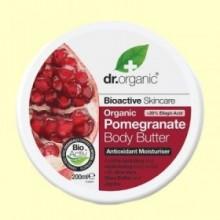 Crema Corporal Granada Orgánica - 200 ml - Dr.Organic