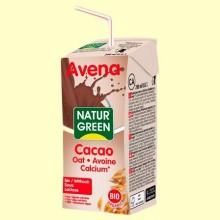 Bebida de Avena y Cacao con Calcio Bio - 200 ml - NaturGreen