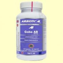 Gaba AB 300 mg - 90 cápsulas - Airbiotic