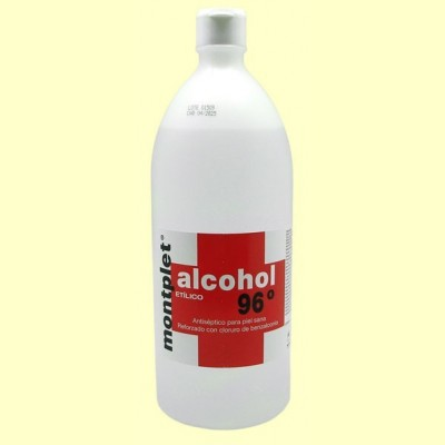 Alcohol Etílico 96º - 1 litro - Montplet