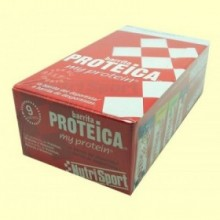 Barrita Proteica - Sabor Yogur Manzana - 24 barritas - NutriSport