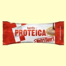 Barrita Proteica - Sabor Galleta - 46 gramos - NutriSport