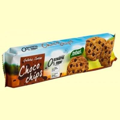 Galletas Choco Chips - 185 gramos - Santiveri