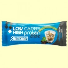 Barrita Low Carbs High Protein - Irish Cream - 16 barritas - NutriSport