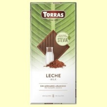 Chocolate Stevia con Leche - 100 gramos - Torras