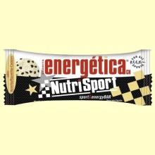 Barrita Energética - Sabor Vainilla & Cookies - 44 gramos - NutriSport