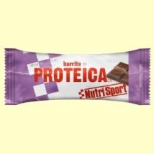 Barrita Proteica Chocolate - 46 gramos - NutriSport