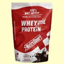 Whey Gold Protein - Nutrisport - 500 gramos - Chocolate