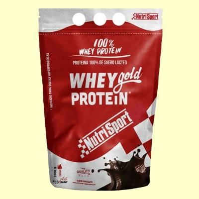 Whey Gold Protein - Nutrisport - 2000 gramos - Chocolate