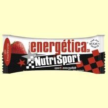 Barrita Energética Fresa - 44 gramos - NutriSport