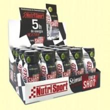 StimulRED Enershot - Rendimiento y Concentración - 20 unidades - Nutrisport