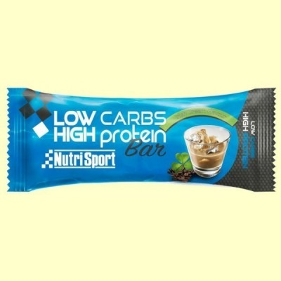Barrita Low Carbs High Protein - Irish Cream - 60 gramos - NutriSport