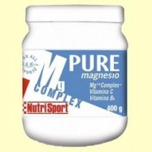 Pure Magnesio Complex 200 mg - 400 gramos - Nutrisport