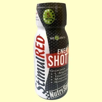 StimulRED Enershot - Rendimiento y Concentración - 60 ml - Nutrisport