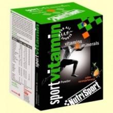 Sport Vitamin - Vitaminas y Minerales - 10 sobres - NutriSport