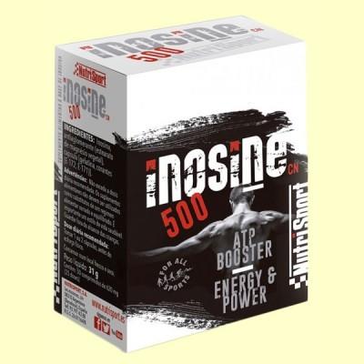 Inosine 500 - Nucleosido - 50 cápsulas - NutriSport
