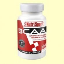Aminoácidos Ramificados BCAA - 100 comprimidos - NutriSport